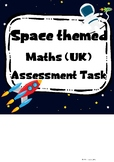 Space Themed Maths Assessment Task (UK version)
