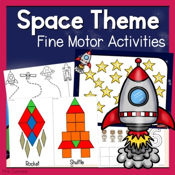 Space Themed Fine Motor Activities -Space Activities