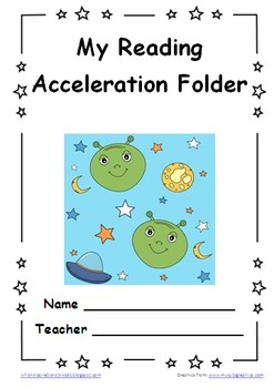 Space Themed PDSA Accelerated Folder File 3rd Grade