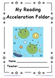 Space Themed PDSA Acceleration/RTI Folder File 1st Grade