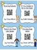 Space Themed QR codes for Reading Centers