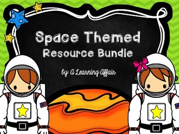 Space Themed Resource Bundle