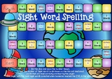 Space Themed Sight Word Board Game