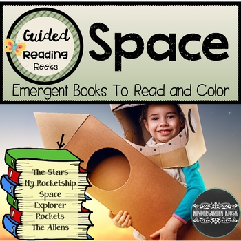 Space Themed Sight Word Readers