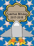 Space Themed Teacher Binder 2017-2018