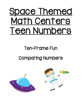 Space Themed Teen Number Centers