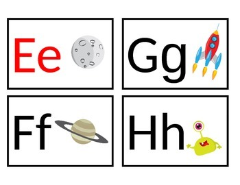 Space Themed Word Wall Headers