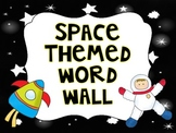 Space Themed Word Wall Labels