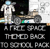 Space Themed All About Me Back to School Activities