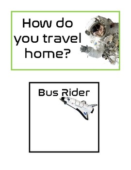 Space Themed student departure guide