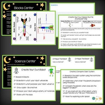 STEM Space Thinking & Problem Solving - Nonfiction - Brainstorm, Plan, & Produce