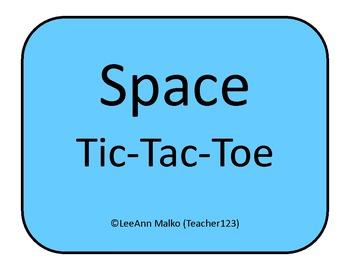 Space Tic-Tac-Toe