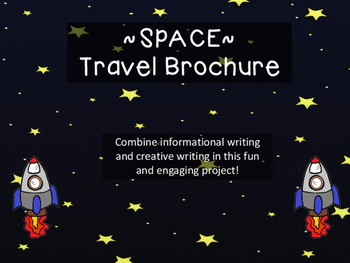 Space Travel Brochure