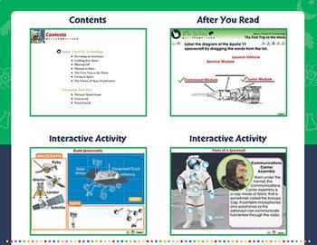 Space Travel & Technology - NOTEBOOK Gr. 5-8