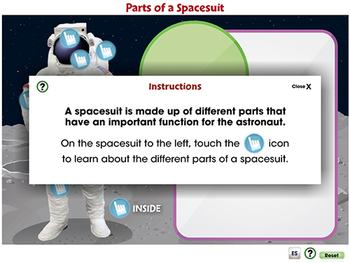 Space Travel & Technology: Parts of a Spacesuit - PC Gr. 5-8