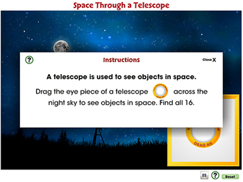 Space Travel & Technology: Space Through a Telescope - NOTEBOOK Gr. 5-8