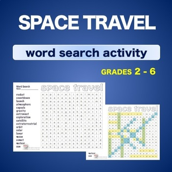 Space Travel * WordSearch * Vocabulary* Warm Up * Bell Ringer *