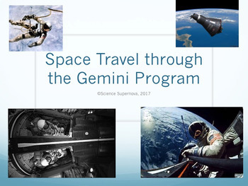 Space Travel through the Gemini Program PPT with Student Notetaking Guide