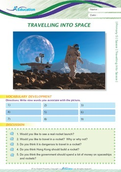 Space - Travelling Into Space - Grade 5
