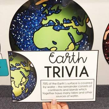 Space Trivia Classroom Decor: Bulletin Board Extreme Makeover Classroom Edition