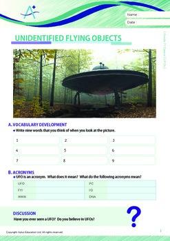 Space - UFOs - Grade 7