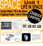Space | Life in space | Google slides | Distance Learning