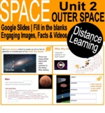 Space| Outer Space | Google slides | Distance Learning