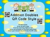 Space Unit Adding Doubles QR code Style