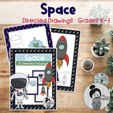 Space Unit Art Activities Distance Learning
