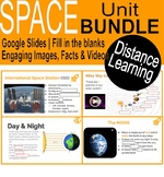 Space Unit BUNDLE | Google slides | Distance Learning