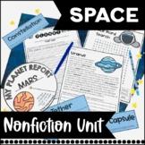 Space Nonfiction Informational Text Unit