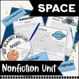 Space Nonfiction Informational Text Unit