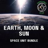 SPACE NOTEBOOK- EARTH, MOON & SUN CURRICULUM (TIDES, MOON