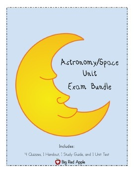 Astronomy/ Space: Exams Bundle
