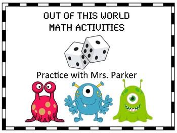 Space Unit Math Activities