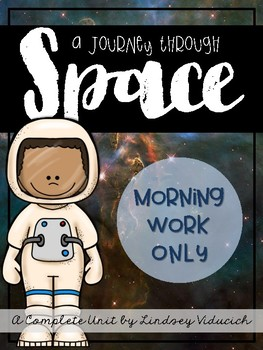 Space Unit (Morning Work ONLY)