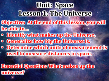 Space Unit Powerpoint