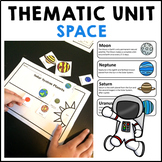 Space Activity Pack Reading Comprehension Activities and Flip Book