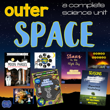 Solar System Unit & Activities, Interactive Games, Printables, & Assessments
