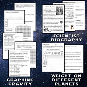 **SAVE 30%**  Astronomy Space Unit FUN ACTIVITY BUNDLE
