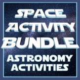 **SAVE 30%**  Astronomy Space Unit FUN ACTIVITY BUNDLE
