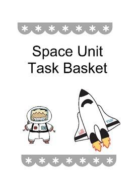 Space Unit Task Basket