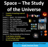 Space Unit: The Study of the Universe - PowerPoint Lessons, Activities and Notes