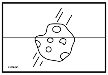 Space, Universe Collaborative Art Project, Coloring Pages, Elementary Art Plan