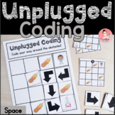 Space Unplugged Coding Activity for Beginners (English and