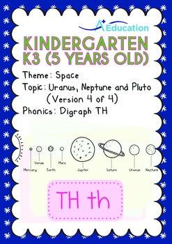 Space - Uranus, Neptune & Pluto (IV): Digraph TH - Kinderg