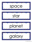 Space Vocab Flashcards