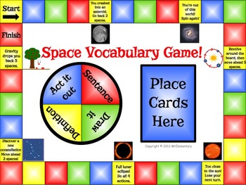 Space Vocabulary Bundle