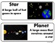 Space Vocabulary Cards