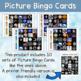Space ESL Activities Bingo Cards